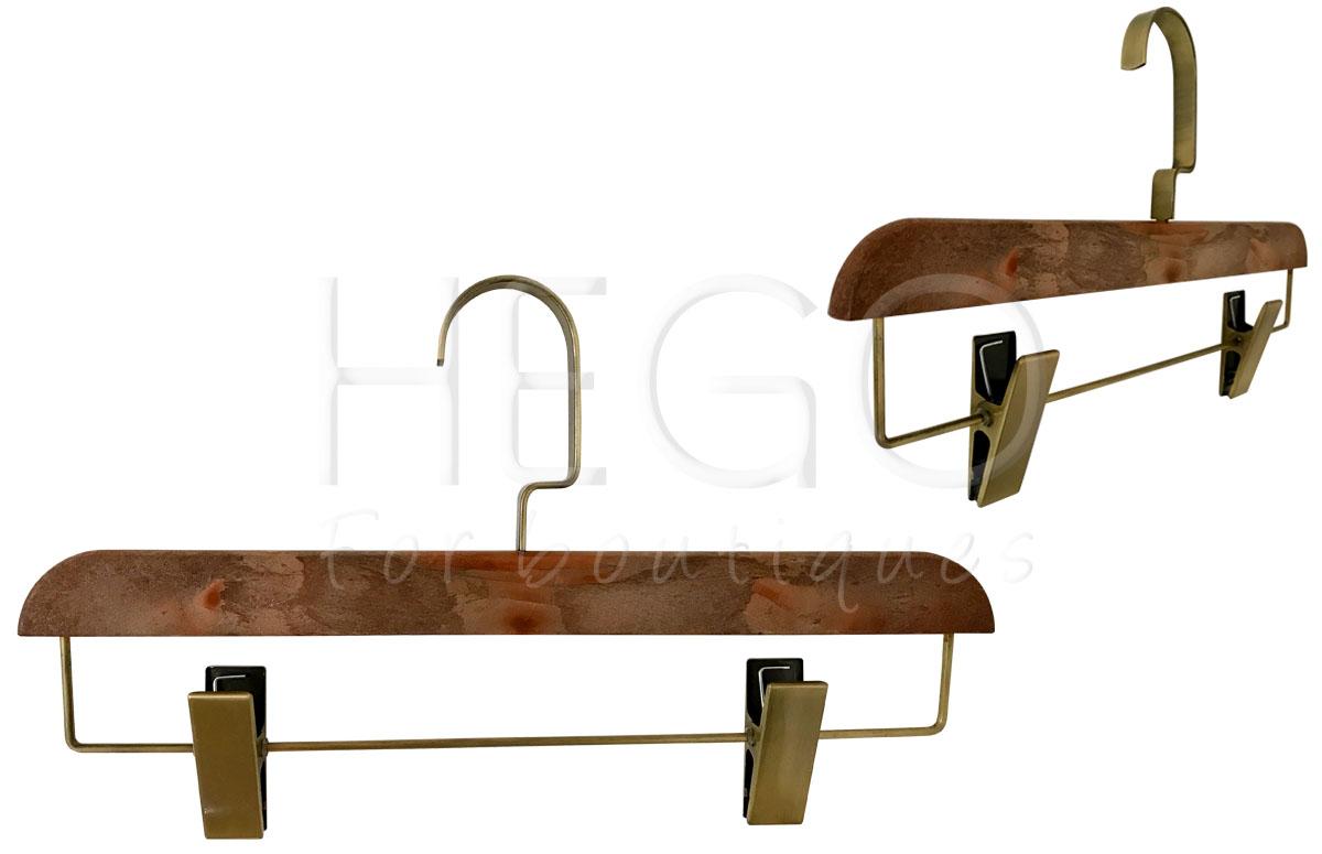 Fabricaci n de perchas para tiendas y profesionales - Perchas de madera blancas ...